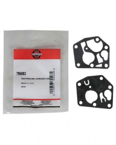 Genuine Briggs and Stratton Sprint 3.75 hp Diaphragm Gasket Repair Kit Part Number 795083